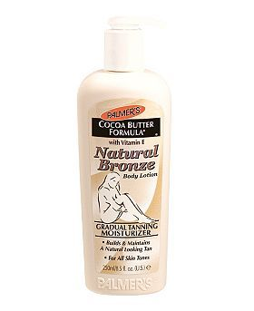 Palmer's Cocoa Butter Formula Natural Bronze Body Lotion    Glowing skin and chocolatey smell!