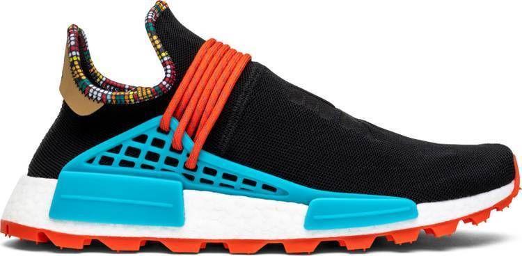 a18ca17b06ed4 adidas x Pharrell Williams SOLARHU NMD EE7582 human race black  adidas   athleticshoes