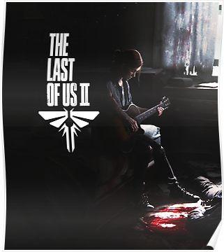 Ellie The Last Of Us Part 2 Poster The Last Of Us Papel De Parede Wallpaper Imagens Memes