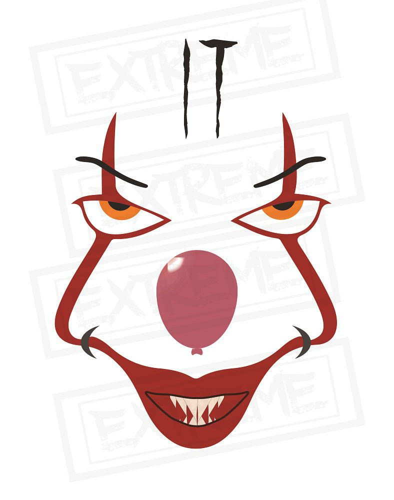 Image result for pennywise clipart