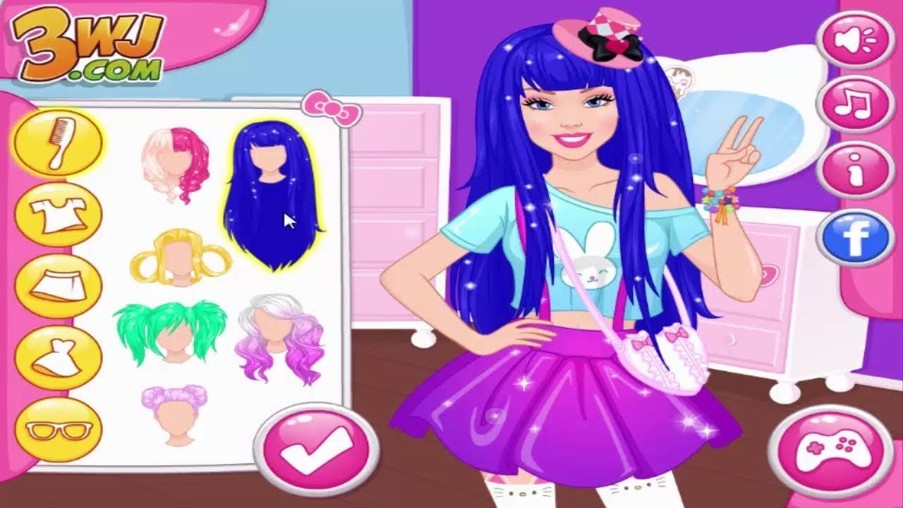 Dress Up Games For Girls Ellie Kawaii Vs Rock Style Princess