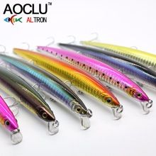 5pcs Minnow Fishing Lure Pencil Long Casting Crankbaits Hard Bait Saltwater Bass