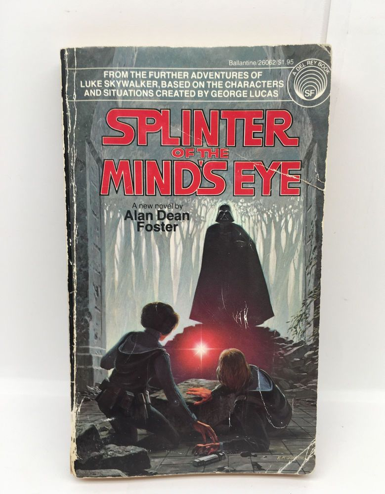 Vintage Star Wars Splinter Of The Mind S Eye Paperback 1978 Alan