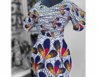 African Print dress, African Clothing, African Clothing for Women, African Dresses, African print skirt, Ankara dress #africanprintdresses
