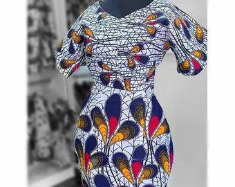 African Print dress, African Clothing, African Clothing for Women, African Dresses, African print skirt, Ankara dress #africanprintdresses