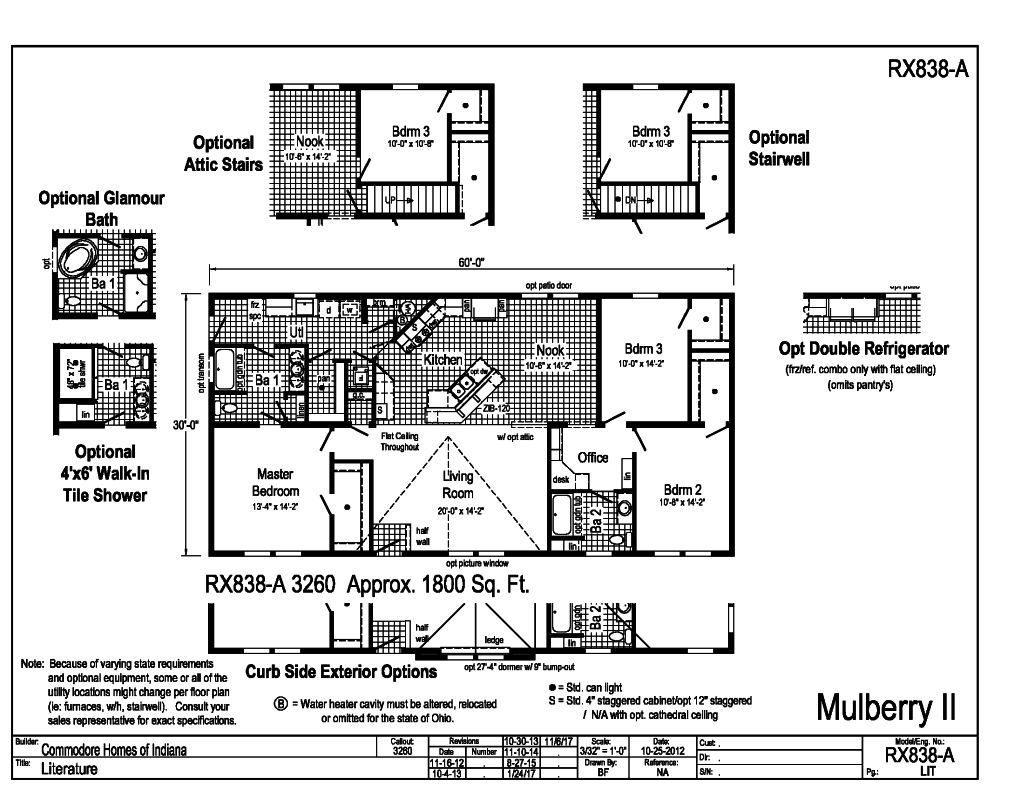 Blandford Homes Floor Plans: Mulberry Homes Floor Plans