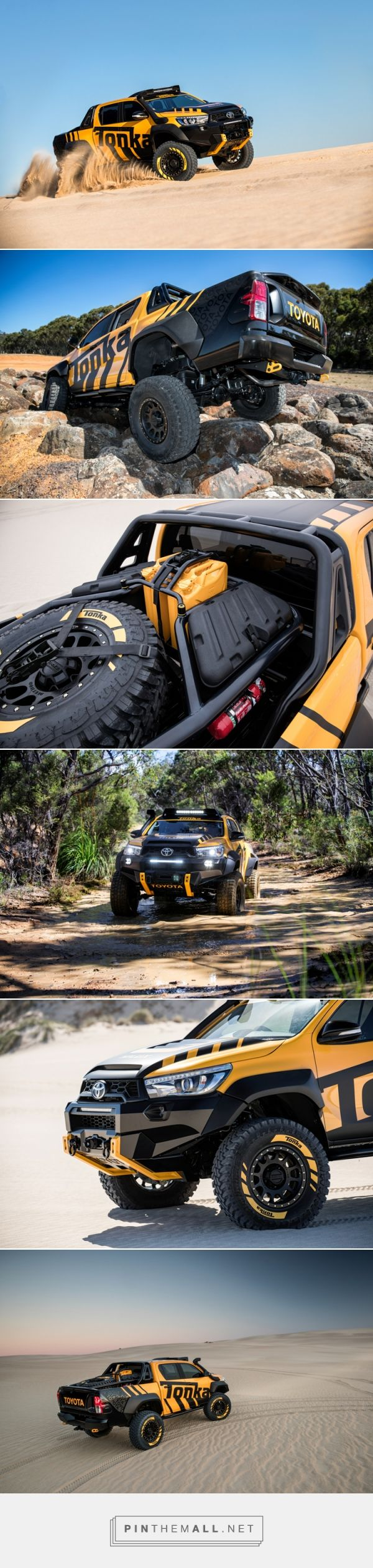 Toyota's HiLux Tonka Concept is a Child's Dream Come True