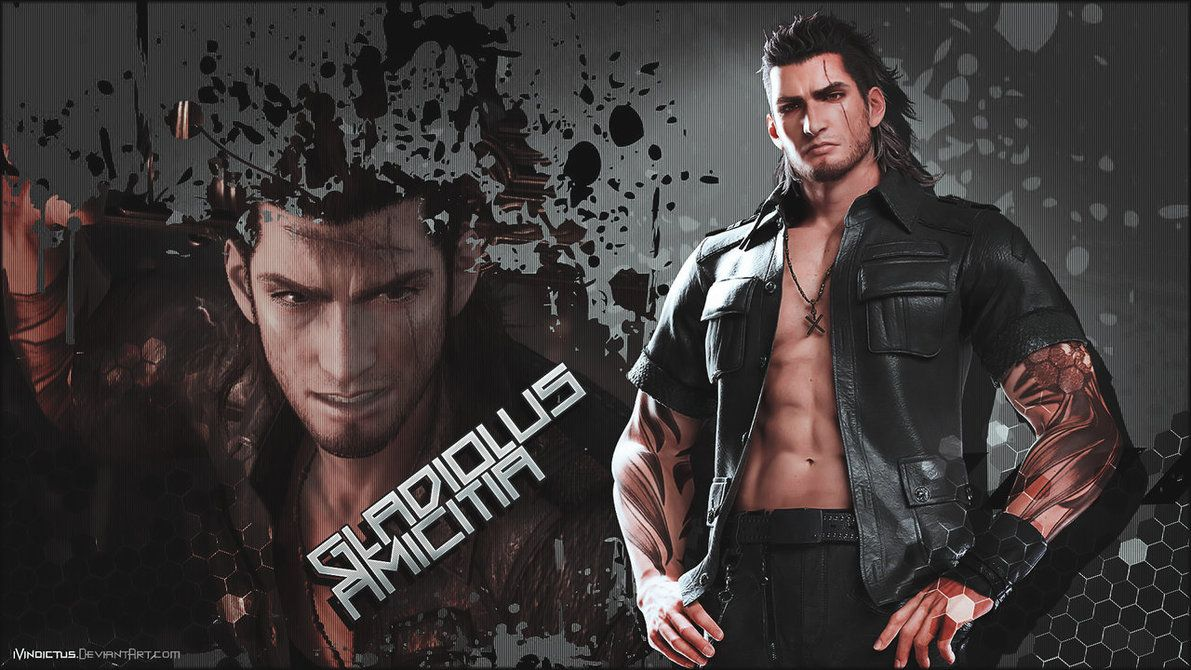 Final Fantasy Xv Gladiolus Wallpaper By Ivindictus Final
