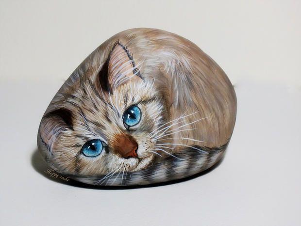 r sultats de recherche d 39 images pour peinture sur galets animaux painted rocks pinterest. Black Bedroom Furniture Sets. Home Design Ideas