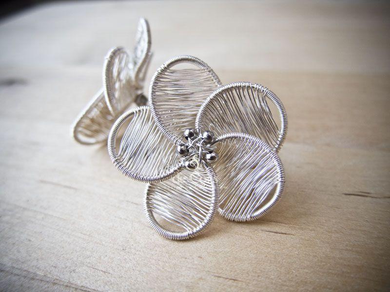 de Cor\'s Handmade Jewelry: Serena Flower Studs Earrings - Step By ...