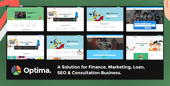 Optima - Multiple Solutions For Business WordPress Theme by