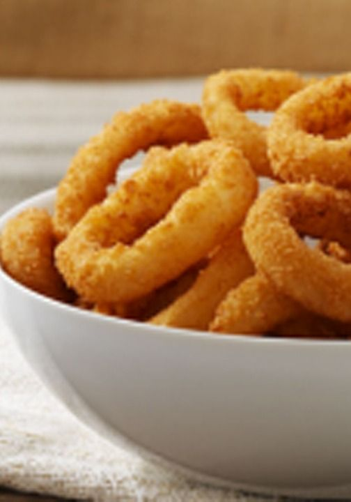 Alexia Crispy Onion Rings with Panko Breading and Sea Salt have a light, crispy texture bursting with flavor.