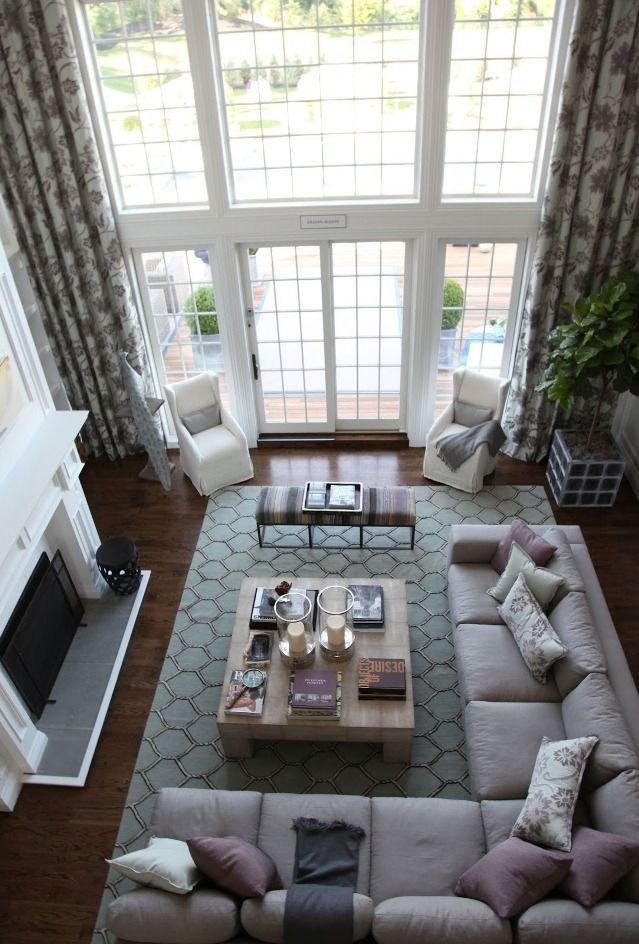 Show Living Room Designs. Elegant living room SEASIDE TWO STORY GREAT ROOM  SHORE TO PLEASE Lillian august