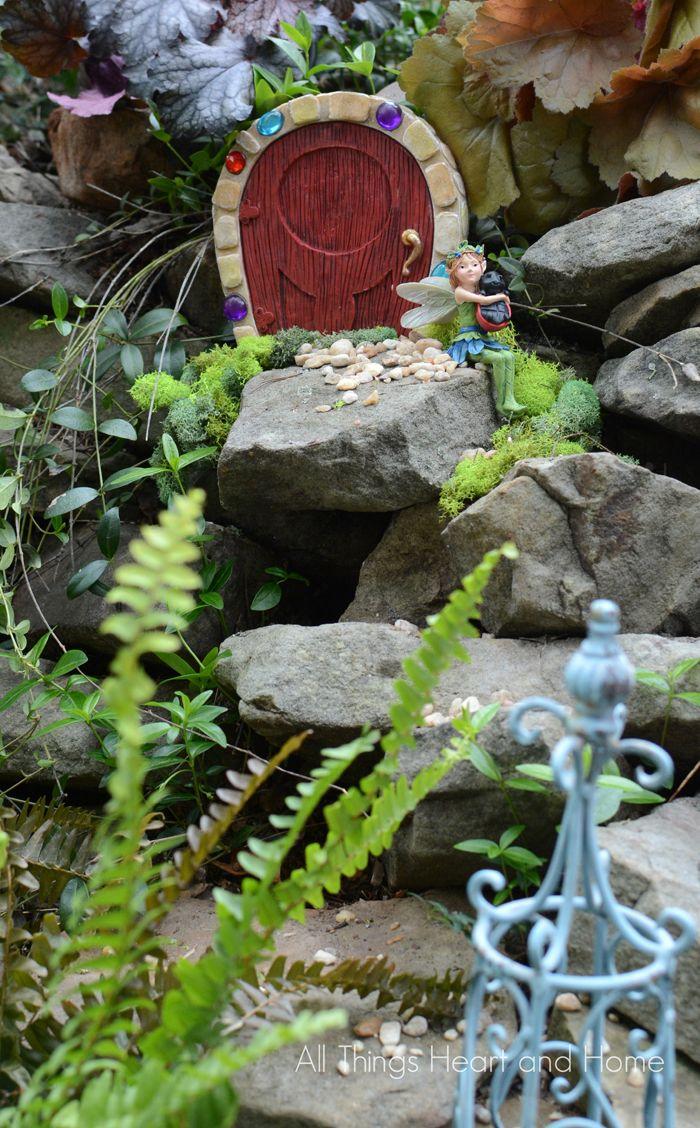 Fairy Garden | Fairy garden houses, Backyard, Garden
