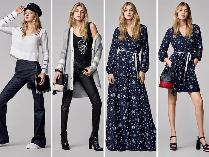 Tommy Hilfiger x Gigi Hadid Fall 2016 Capsule Collection