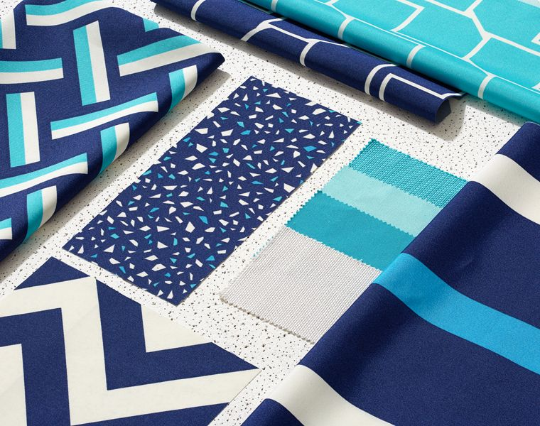 Kirkby Design S Colourful Graphic Outdoor Fabric Collection