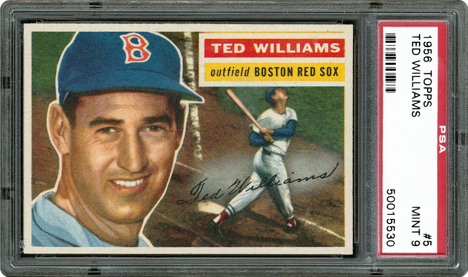 1959 topps stan musial ted williams boston red sox ted
