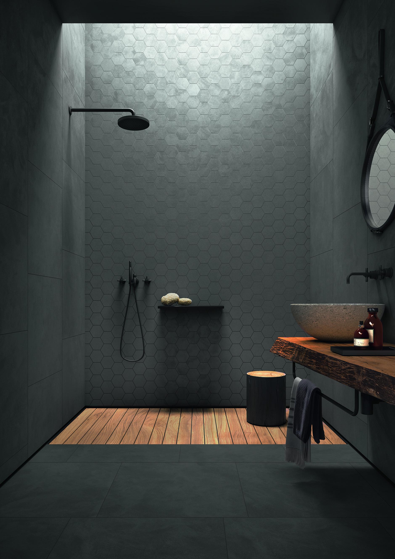 Wohnzimmer Fli Fli Fliesenbad Wohnzimmer In 2020 Fliesen Wohnzimmer Fliesen Betonoptik Modernes Badezimmer