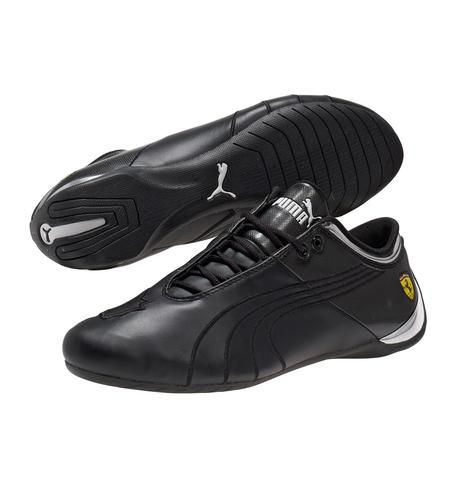 0ee6a041c140ad New Mens Puma Shoes Future Cat M1 Big Cat SF Ferrari Black 303926 01