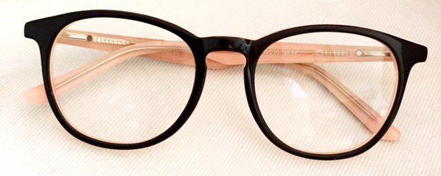 c0eb2d05fd0d1 Armacao de Grau Isabele 2.0 Preto Rose  oculosfeminino