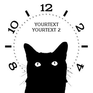 personalize i see cat click pick your color dial wrist