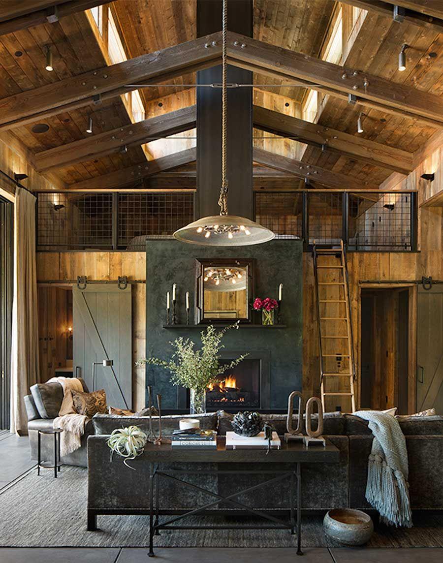 Lo de vivir en un rancho, o en medio de un bosque y en una casa de ...