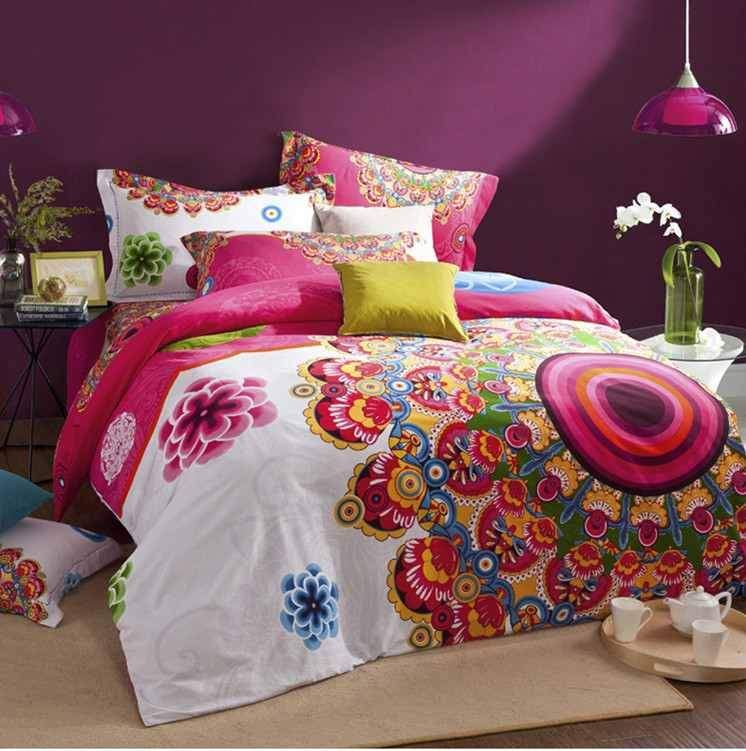 Matrimonio Gipsy Queen : Gorgeous high quality boho style duvet cover bed sheet