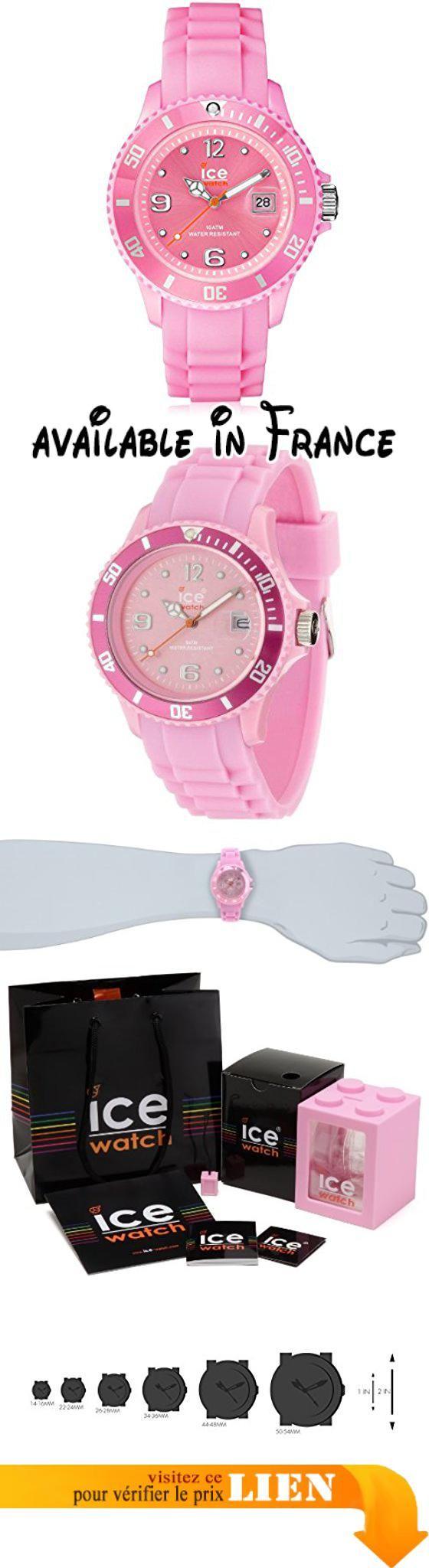 B0037NZ4EY   Ice-Watch - ICE forever Pink - Montre rose pour femme avec  bracelet 99e5e51d3246