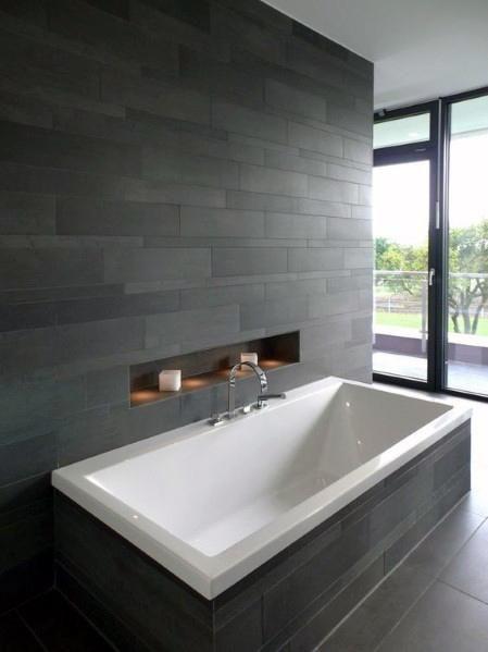 Top 60 Best Bathtub Tile Ideas – Wall Surround Designs