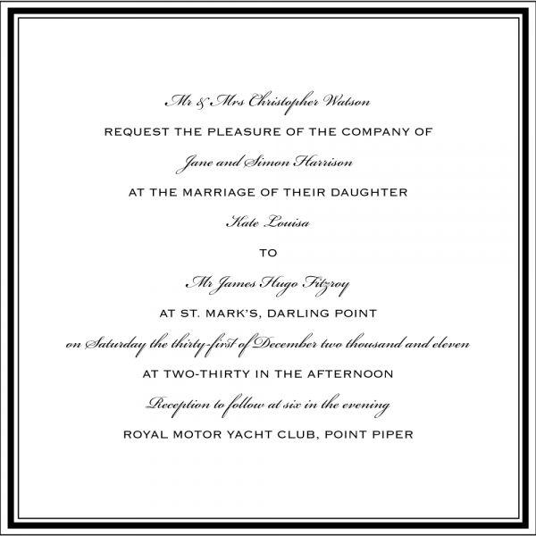 Nice 11 Traditional Wedding Invitations Wording Wedding
