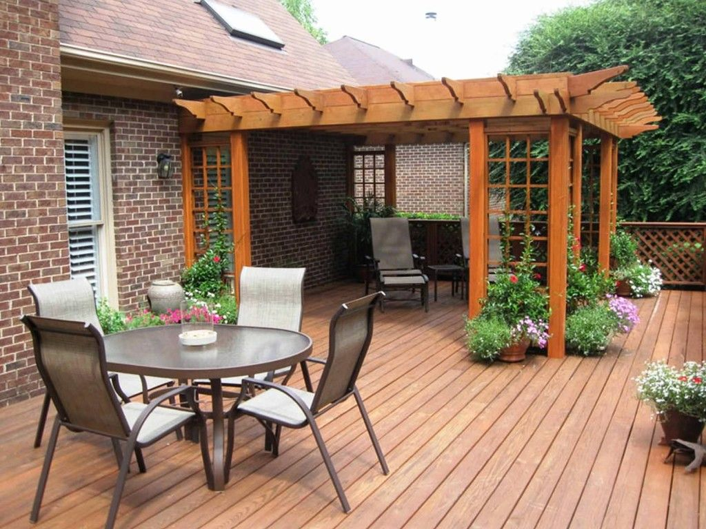 Patio And Deck Ideas Image Detail For Deck Ideas About Patio Designs  Contemporary Deck Patio Ideas