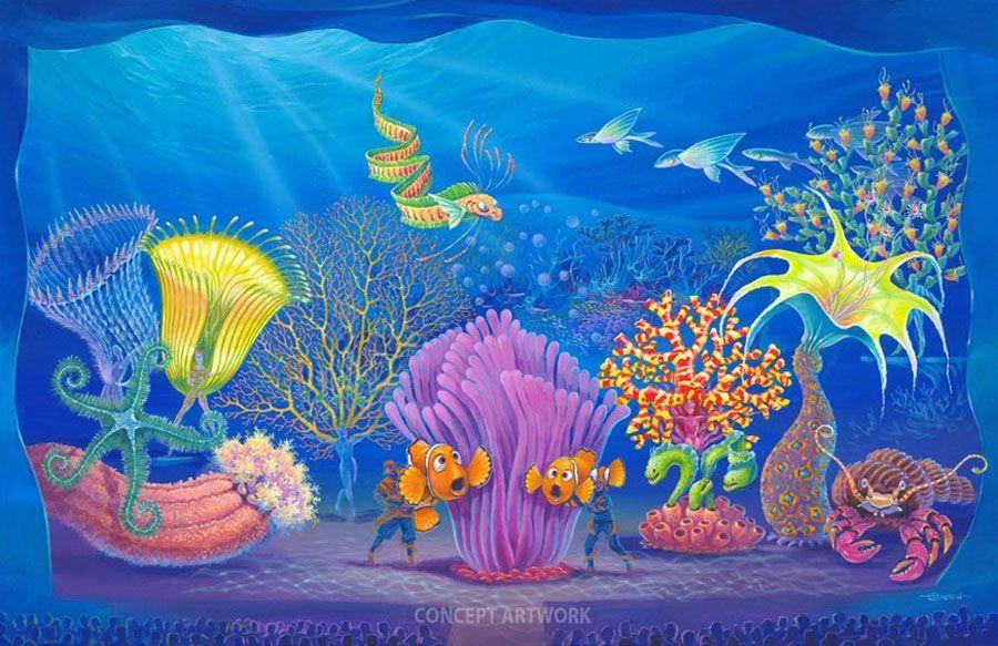 Finding Nemo The Musical, Disney's Animal Kingdom, Walt