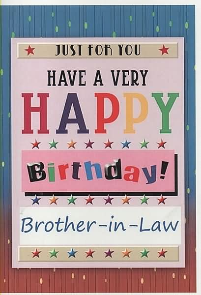 Happy Birthday Brother In Law Images & Pictures