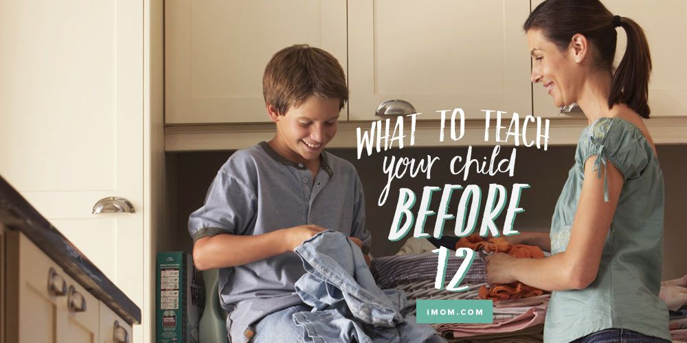 The developmental stages of children can be managed better if you've taught your children these 12 things to know before they turn 12.