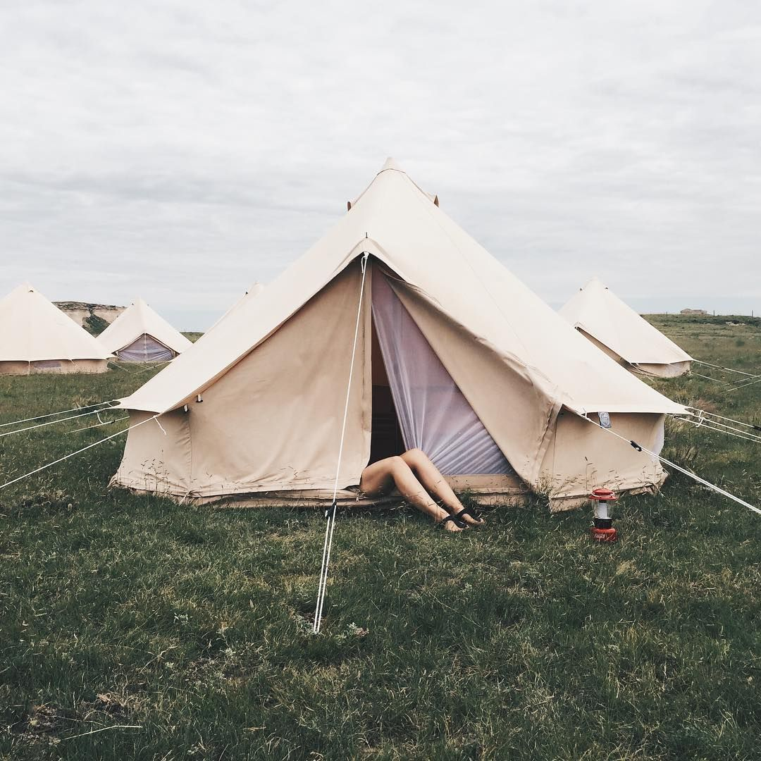 Canvas Tent Camping || Soft Spirit Strong Blog
