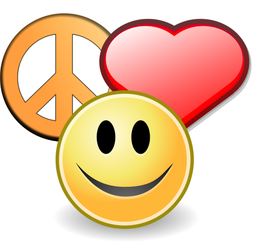 Love Happiness Peace Clip Art Finding And Maintaining Peace While