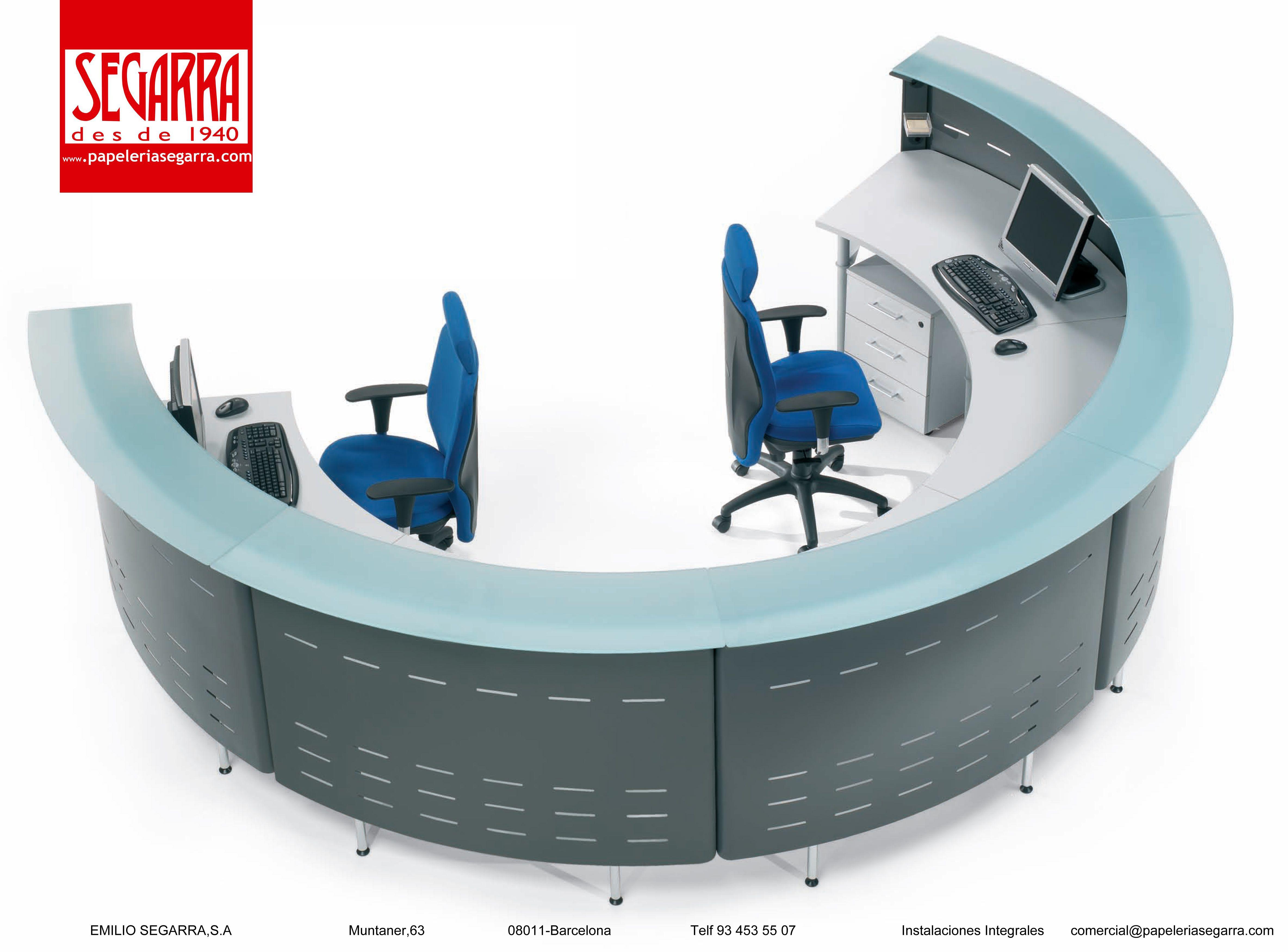 Novedades En Muebles De Oficina Mostradores Recepciones  # Muebles Ficheros