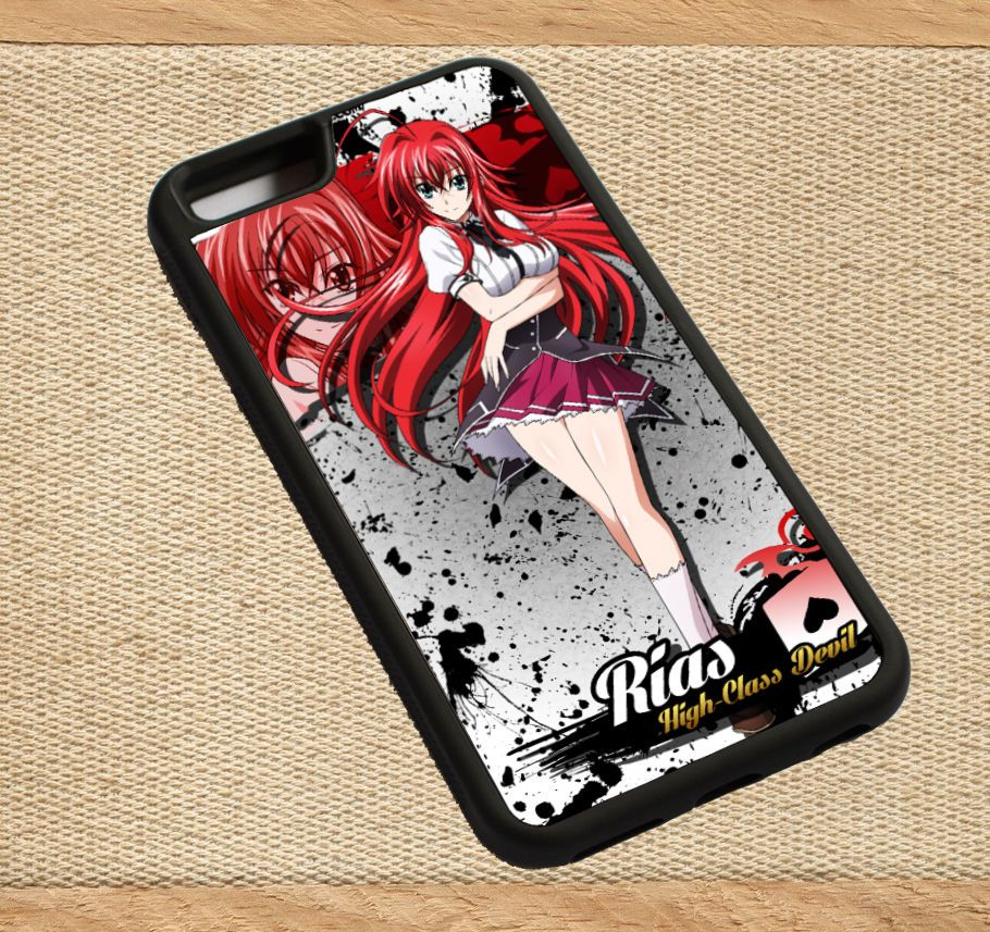 High school DxD Rias Gremory case cover For Apple iphone 6