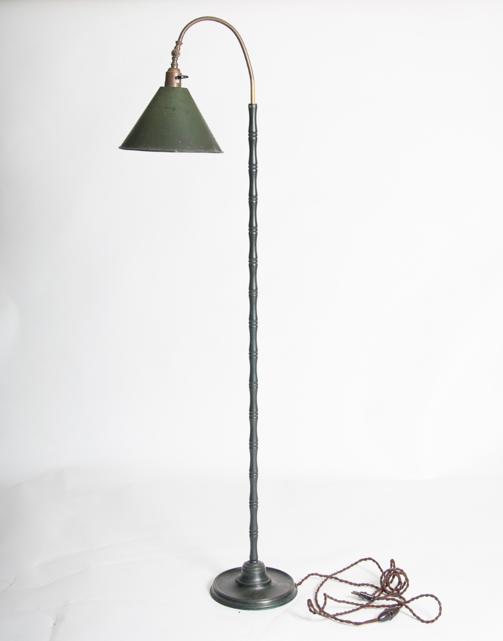 Maison Bagues Attributed 1940s Floor Lamp Decorative Collective Floor Lamp Bamboo Floor Lamp Lamp