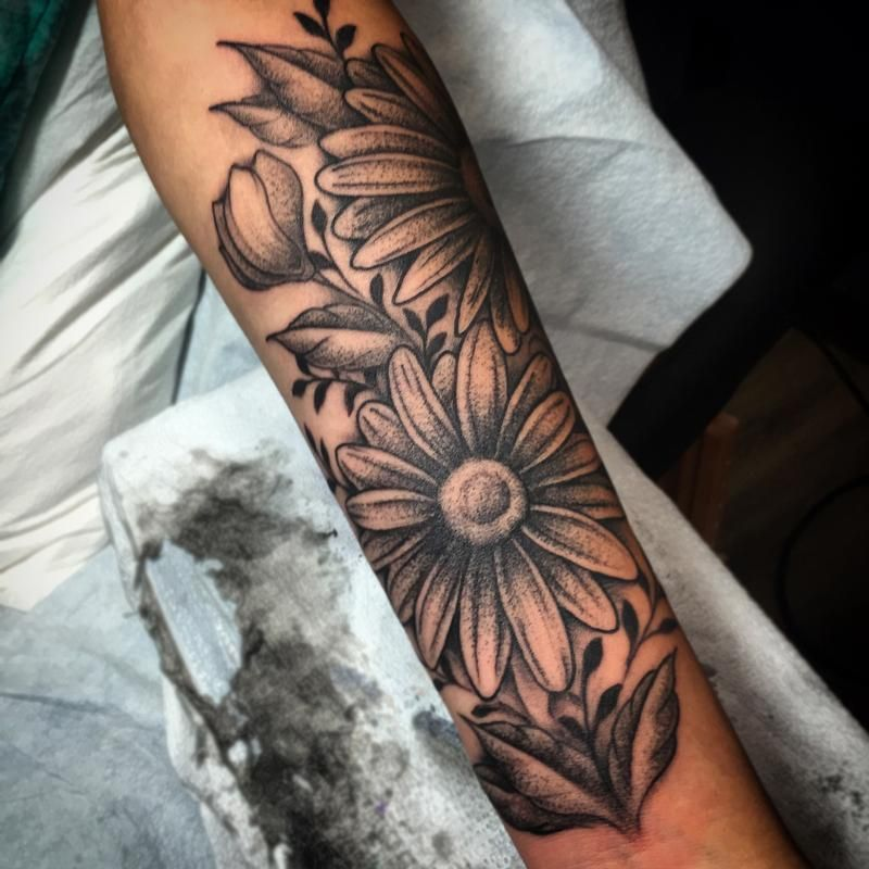 Image Result For Daisy Tattoos Tatts Forearm Tattoos Tattoos