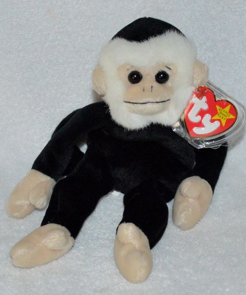 TY Beanie Baby Retired Original  Mooch the  Monkey Mint Protected Tag 1999   Ty 4b55ebab918