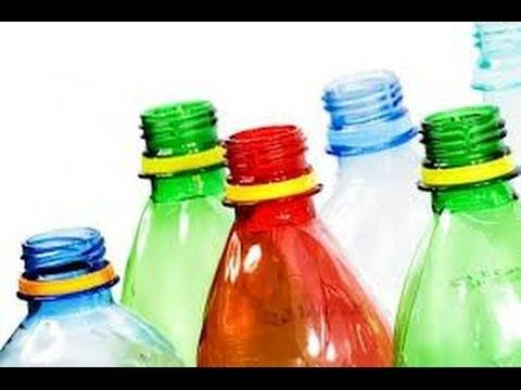 How To Use Waste Bottles For Decoration Decoration With Empty Cold Drink Bottles  Youtube  Plastic