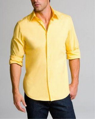 yellow shirts for guys? | Wedding Stuff | Pinterest | Yellow shirts
