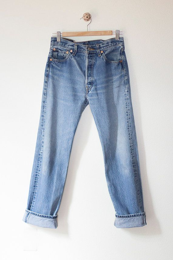 Riptide Vintage Jeans 1990s Womens 501 Levi S By Goldbanana Blue Jeans Jeans Levi