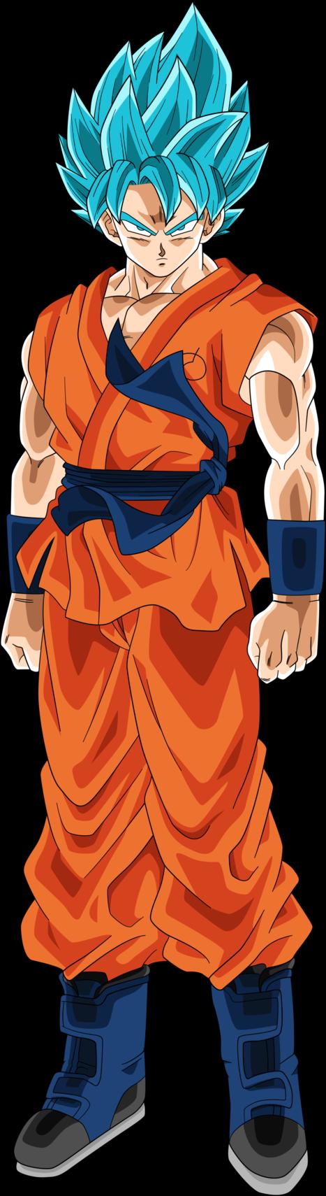 SSGSS Goku (Dragonball Heroes) Alt Palette by RayzorBlade189