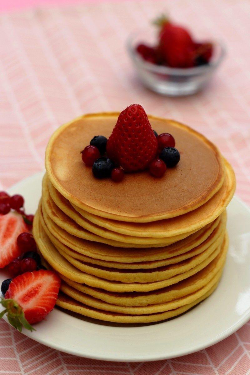 Pancakes légers au fromage blanc | Recette, Recette ...