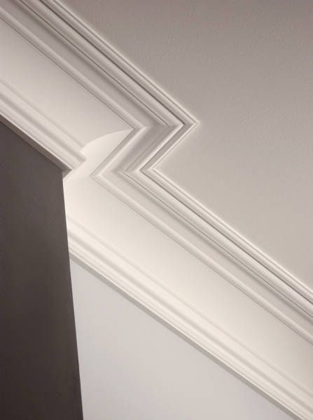Pin By Fajer Alabbassi On ديكورات السقف False Ceiling Design Bedroom False Ceiling Design Moldings And Trim