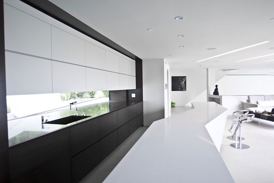 Cucina Bianca e Nera: eccovi 20 Modelli dal Design Moderno | Design ...