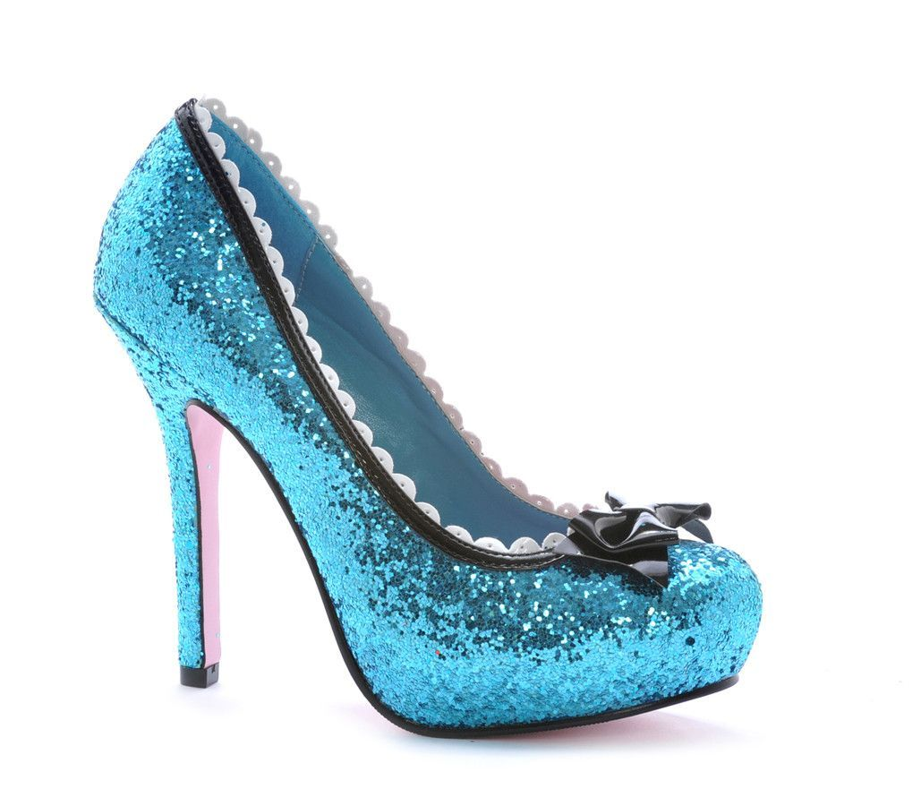 SHOES PRINCESS GLITTER BU SZ