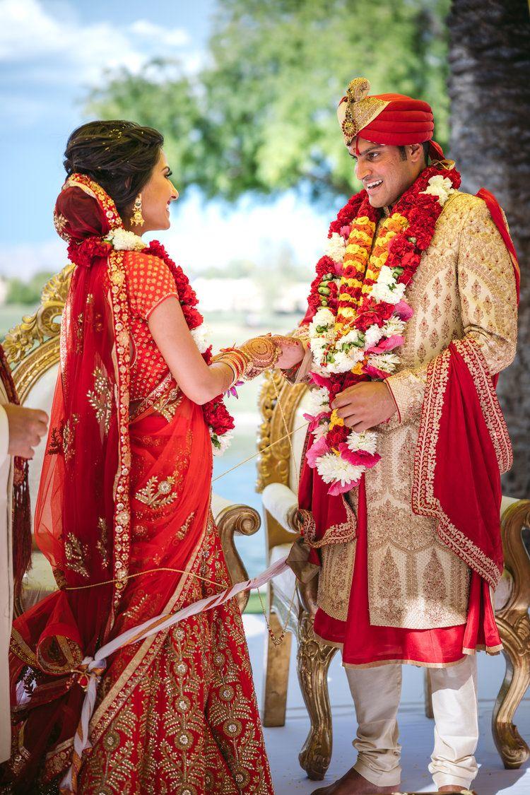 Bride and Groom wedding rings Indian wedding